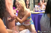 Lucky strippers getting sucked