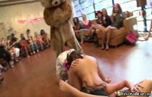 Dancing Bear on bachelorette party